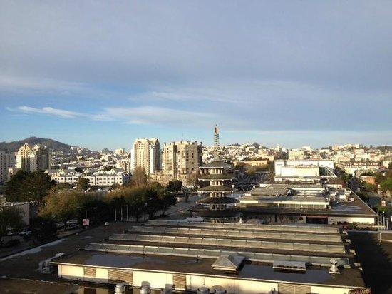 Hotel Kabuki, a Joie de Vivre hotel: Beautiful view to the West