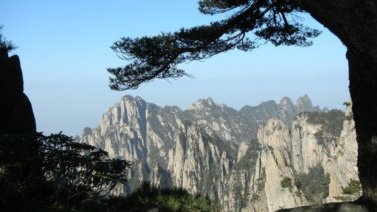Mt. Huangshan (Yellow Mountain): Vue