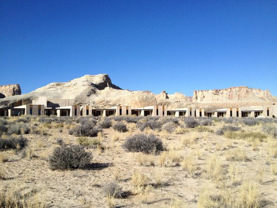 Amangiri : Reverse View of Rooms