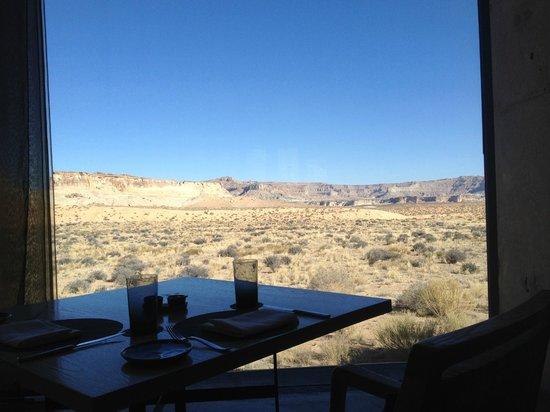 Amangiri: View from Restaurant