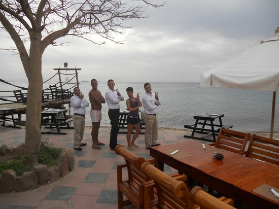 Taba Hotel and Nelson Village: nelson staff