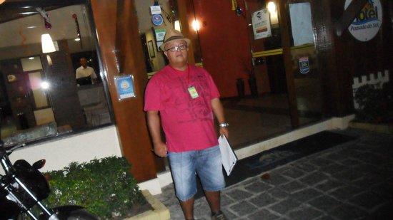 Hotel Pousada do Sol: Fachada central do Hotel