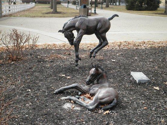 Kentucky Horse Park : Foal statue outside