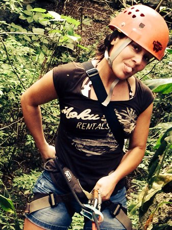 Campo Rico Ziplining Adventure : Cave Rappelling