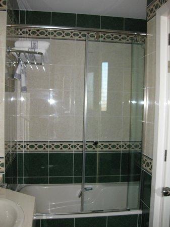 Hotel Atlantico: Shower