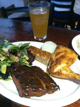 Bushfire Grill: yum!