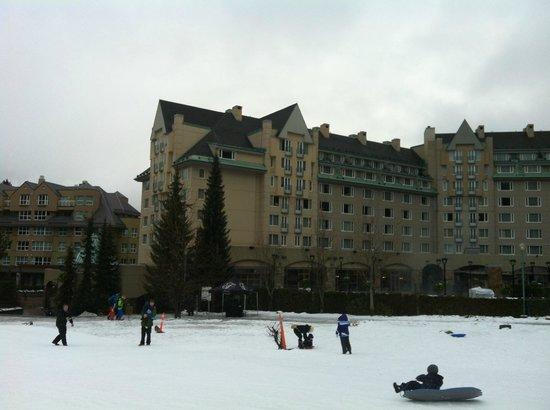 Fairmont Chateau Whistler Resort : Vista do Hotel