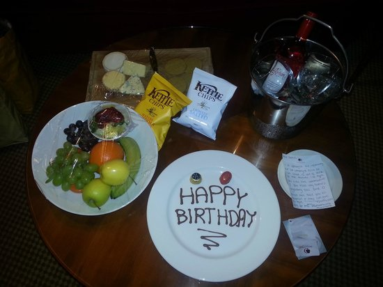 DoubleTree by Hilton Aberdeen City Centre: Surprise for my Husband