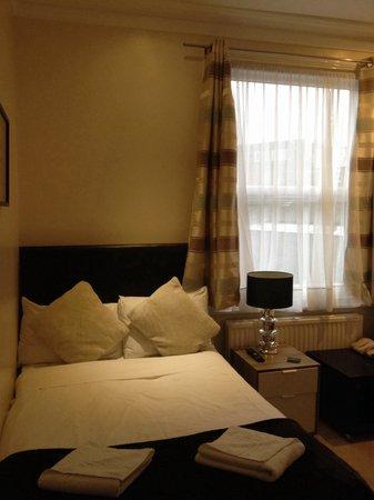 Sapphire Hotel London: Room