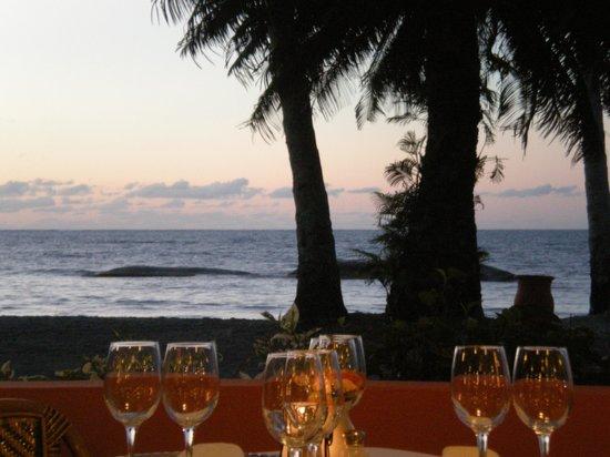 Grand Bahia Principe San Juan: View of the ocean from the Tex Mex restaurant.