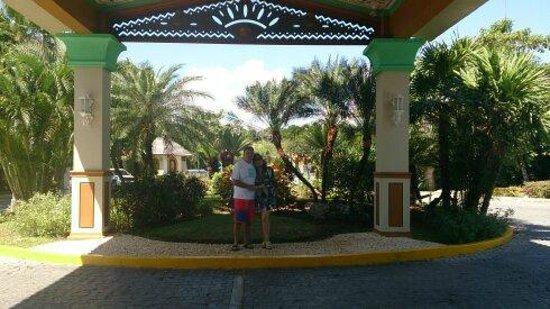 Hotel Riu Playacar: ENTRADA DEL HOTEL