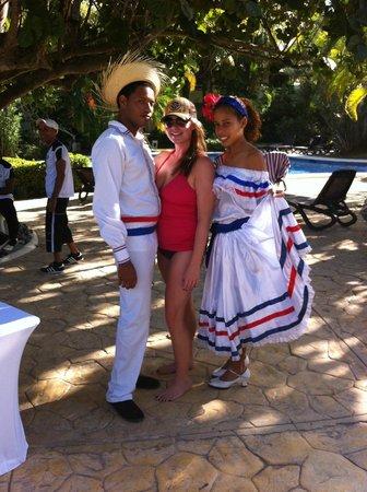 Paradisus Punta Cana Resort : Dominican culture interaction
