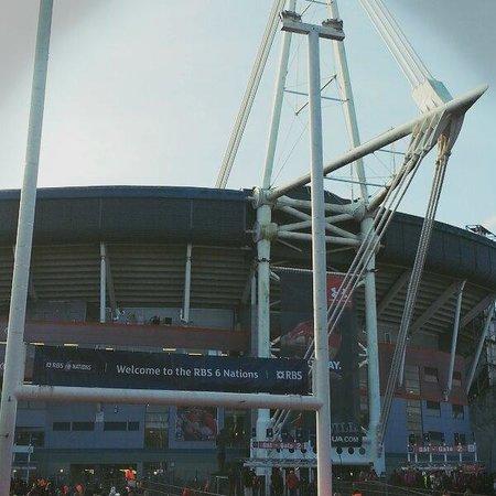 Principality Stadium : Esterno