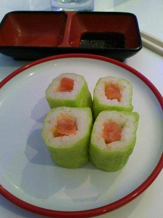 Ryujin Sushi Lounge : maki soja vert