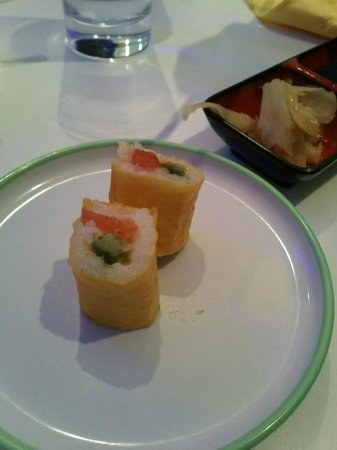 Ryujin Sushi Lounge : maki soja jaune