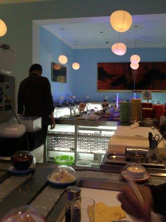 Ryujin Sushi Lounge : Le cadre