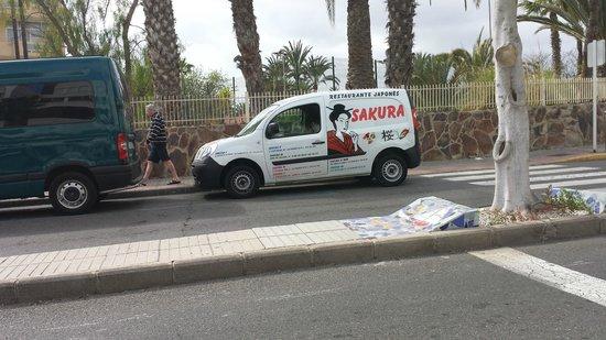 Sakura III: furgoneta de la casa
