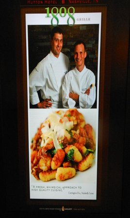 1808 Grille: Poster