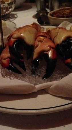 Truluck's Restaurant : stone crab claws