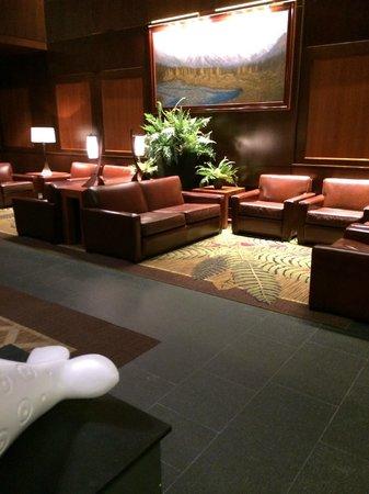 Hotel Alyeska: Lobby sitting area