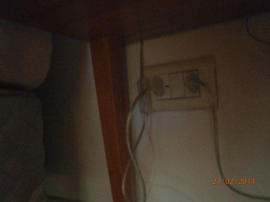 Howard Johnson Hotel Rosario : interruptor inaccesible