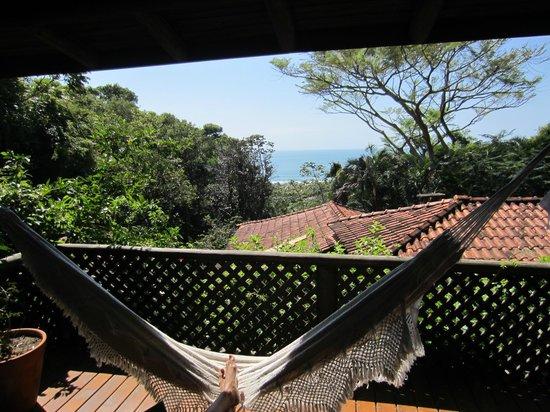 Morada dos Bougainvilles: Vista da veranda