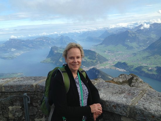 Hotel des Alpes: At the top of Mt. Pilatus overlooking Lake Lucerne