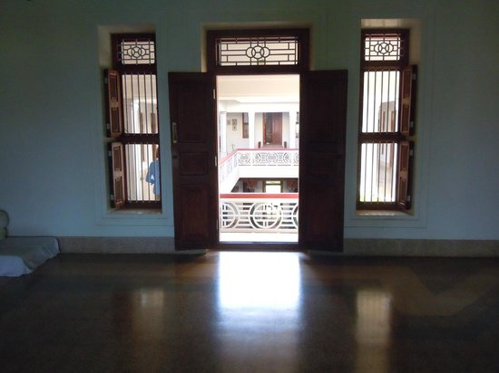 Visalam: upstairs reading room