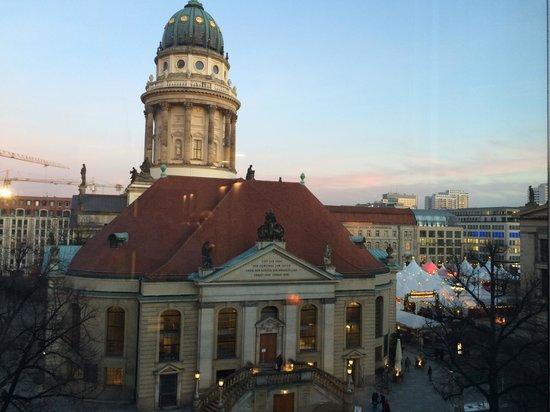 Sofitel Berlin Gendarmenmarkt: The Xmas markets were on in The Gendarmenmarkt
