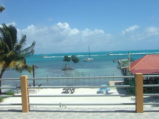 Popeyes Beach Resort: View from the room