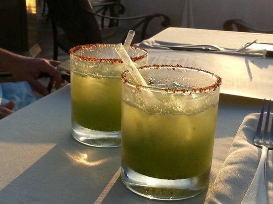 Vista Grill On The Beach: Not your everyday Margarita