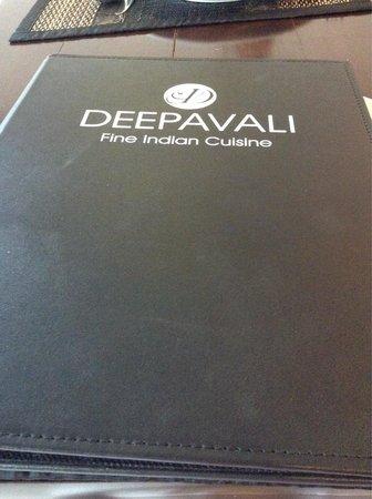 Deepavali Indian Restaurant - Bangtao Place: The menu in deepavali