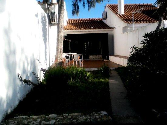Vilanova Resort: terrace from pool area