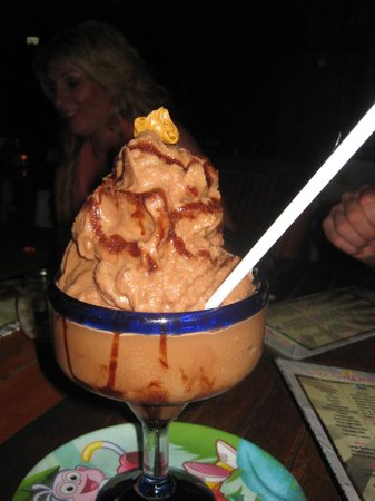 Wet Wendy's Margarita House and Restaurant: Chocolate Peanut Butter Margarita- D Lish!
