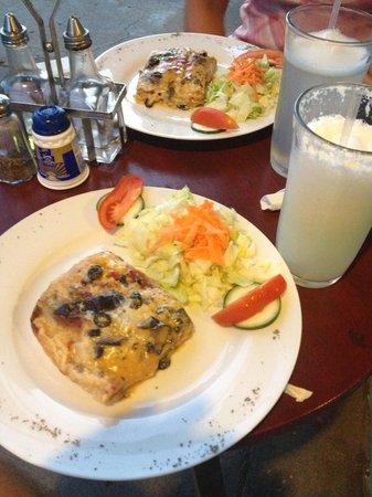 Restaurante La Galeria: Vegetarian lasagña
