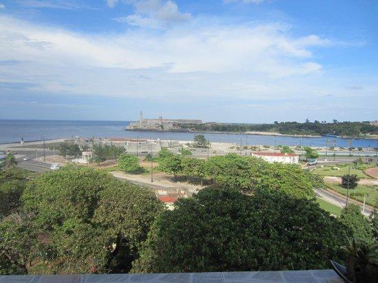 Casa Particular Reina y Paco: View across to El Morro
