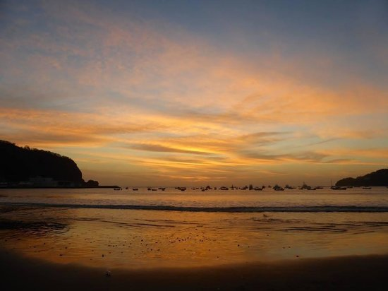 San Juan del Sur Beach: Sunset