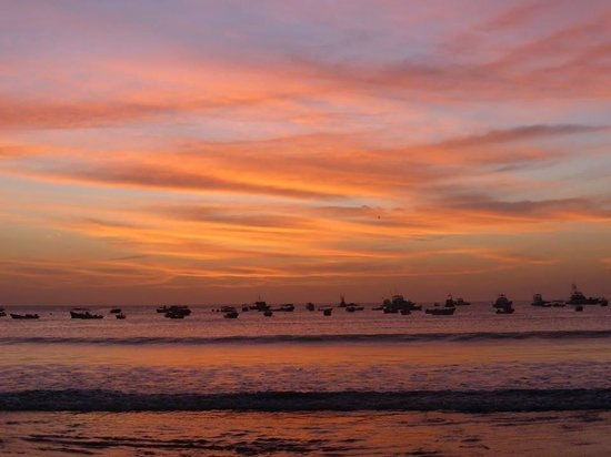 San Juan del Sur Beach : Sunset
