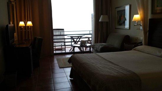 Hotel Parador de Cruz de Tejeda : habitacion