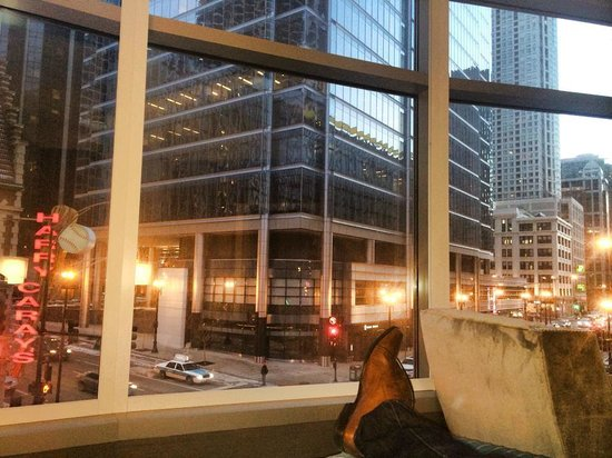 Kinzie Hotel : Phenomenal view from the suite!