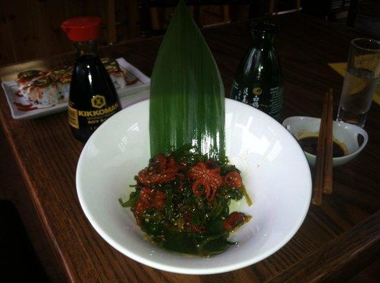 Oishda Sushi: Fresh baby octopus salad
