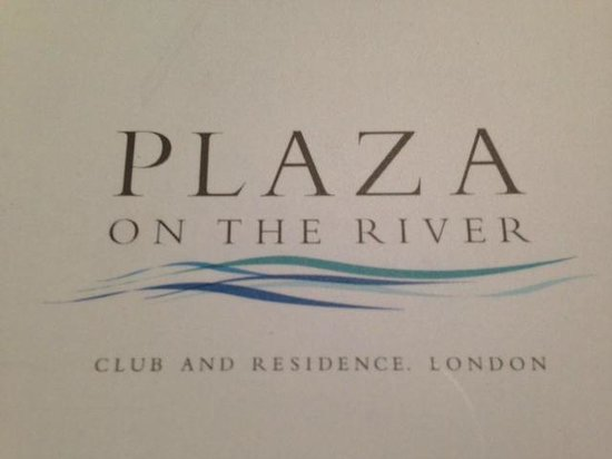 Cover of Plaza on the River guest services book