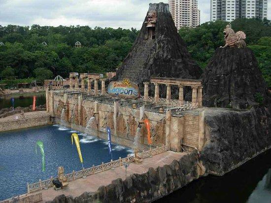 Sunway Lagoon Theme Park : вид