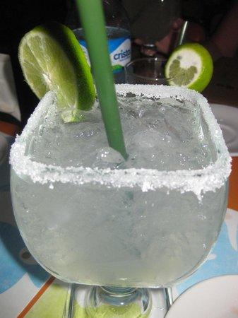 El Moro: Hefty Margarita- they do not skimp!