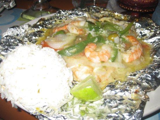 El Moro: Fish and Shrimp Papillote