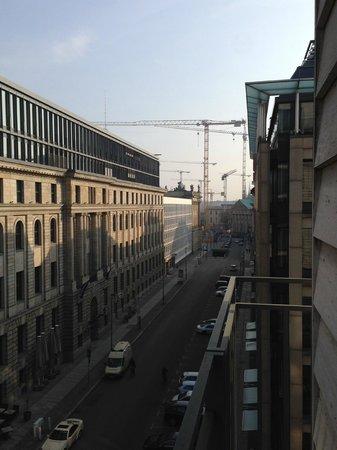 Regent Berlin: View from the Room's Balcony