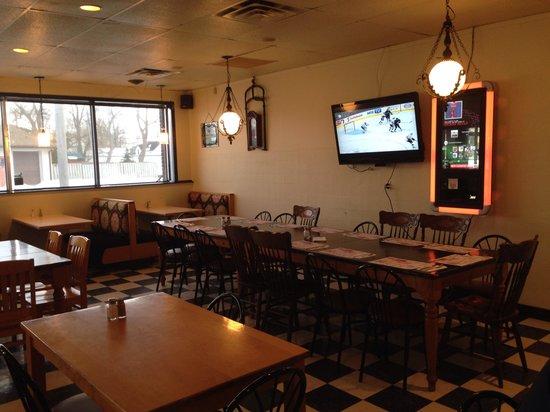 The Villa Dining Lounge Area