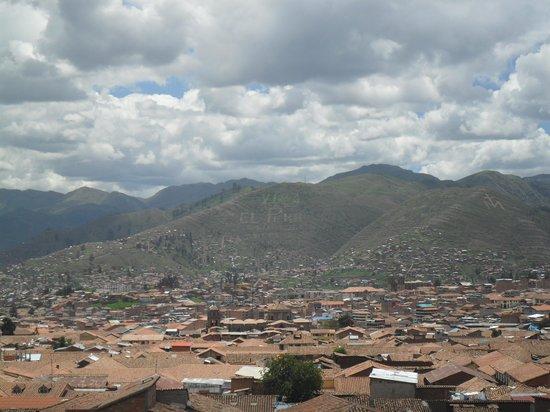 Cusco Packers Hostel: Vista de la ciudad desde Cuscopakers!