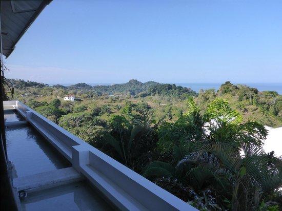 La Luna Restaurant at Gaia Hotel & Reserve: La Luna - daytime view towards the south