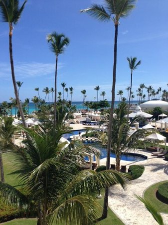 Iberostar Grand Hotel Bavaro : View from the 3rd floor looking out over the resort